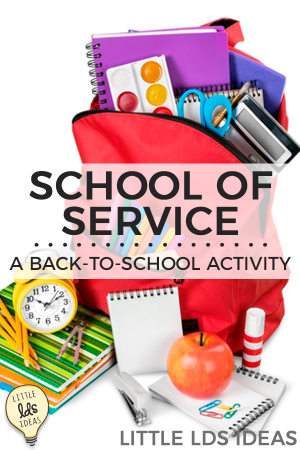 School of Service Activity Idea