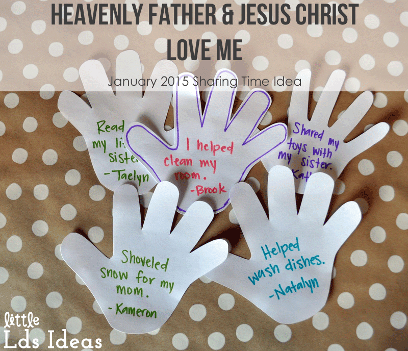Heavenly Father and Jesus Christ Love Me