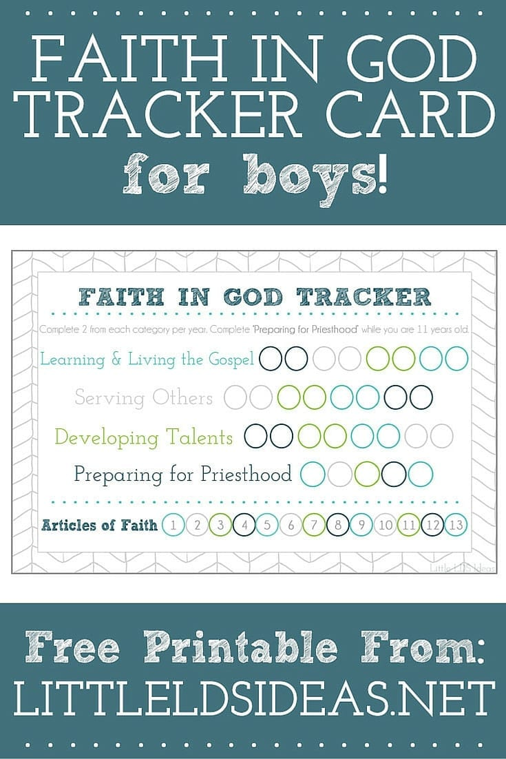 picture regarding Articles of Faith Printable Cards identified as Religion Within God Archives - Very little LDS Tips