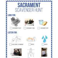 November 2016 Sacrament Sharing Time Idea