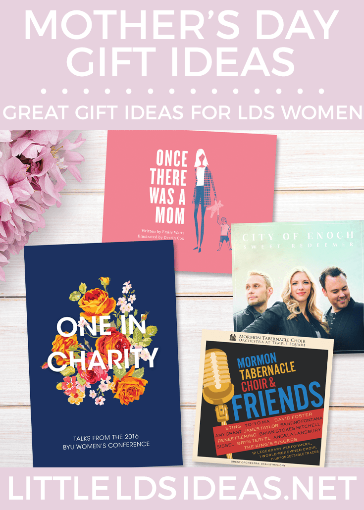 Mother's Day Gift Ideas for LDS Women. These LDS themed Mother's Day gift ideas are perfect for any and all LDS women.
