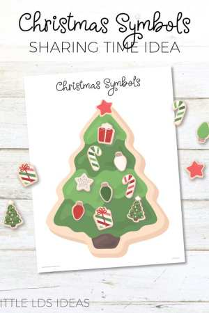 Christmas Symbols Sharing Time Idea
