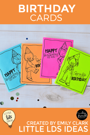 Primary Birthday Cards