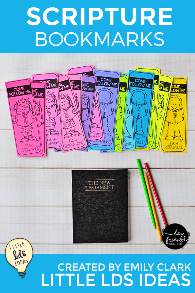 Simple Scripture Bookmarks
