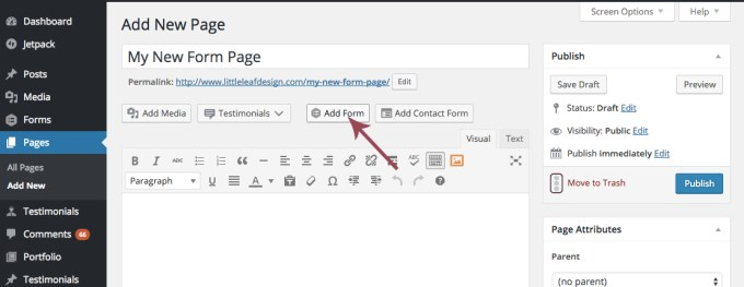 Adding-Form-to-Page