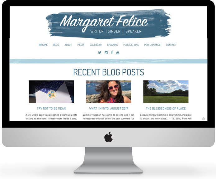 Margaret Felice - Blogger and Speaker