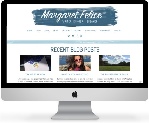 Margaret Felice – Blogger and Speaker