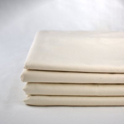 100% organic cotton sheets in a natural colour