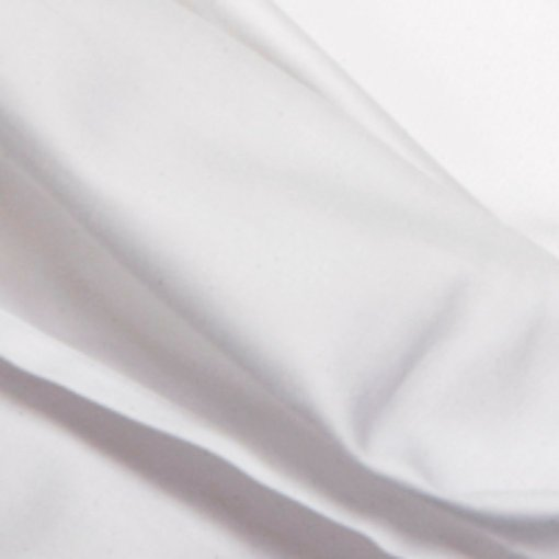 premium quality organic cotton sheets in white, close up of the ethical eco bedding