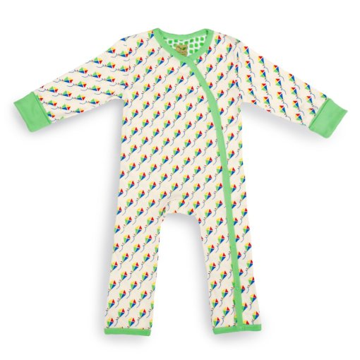 Kites Organic Baby Grow (Large) by LittleLeaf