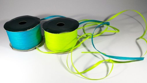 100% compostable raffia ribbon