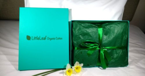 Littleleaf Sheets in a Box Gift Box Picture
