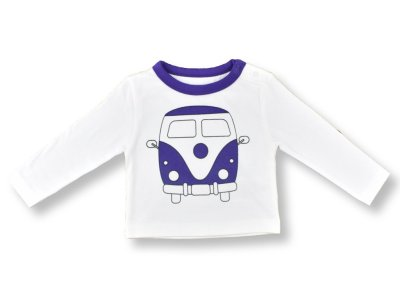 Organic Cotton Camper Van T-Shirt by LittleLeaf Overview Picture