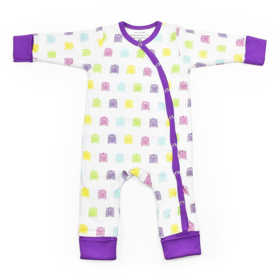 UK Parliament Portcullis Baby Grow