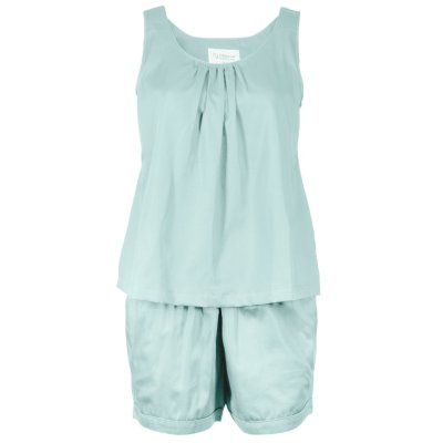 LittleLeaf Aquamarine PJs with Shorts