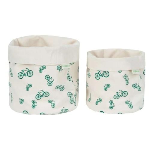 LittleLeaf Bicycle Fabric Pots