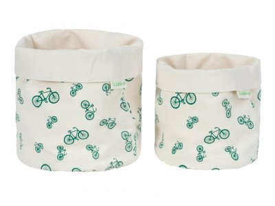 LittleLeaf Bicycle Fabric Pots