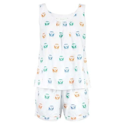 LittleLeaf Campervan PJs with Shorts
