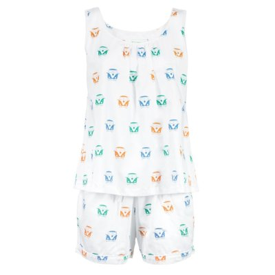 LittleLeaf Campervan PJs with Shorts