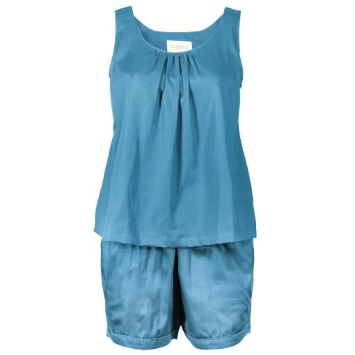 LittleLeaf Ocean Blue PJs with Shorts