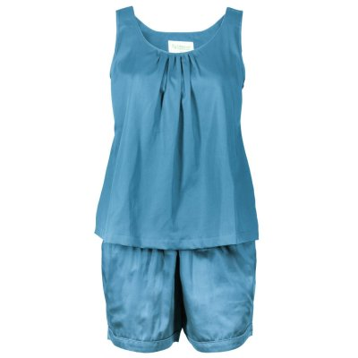 LittleLeaf Ocean Blue PJs with Shorts