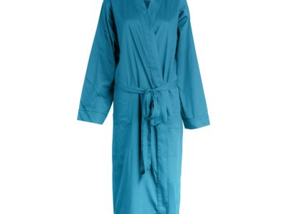 LittleLeaf Ocean Blue Robe
