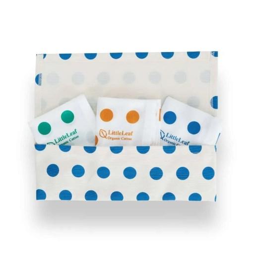 LittleLeaf Spots Handkerchiefs in Spots Pouch