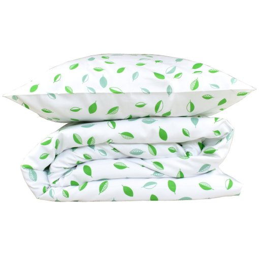 LittleLeaf Tumbling Leaves Duvet Cover and Pillowcase