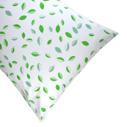 LittleLeaf Tumbling Leaves Standard Pillowcase