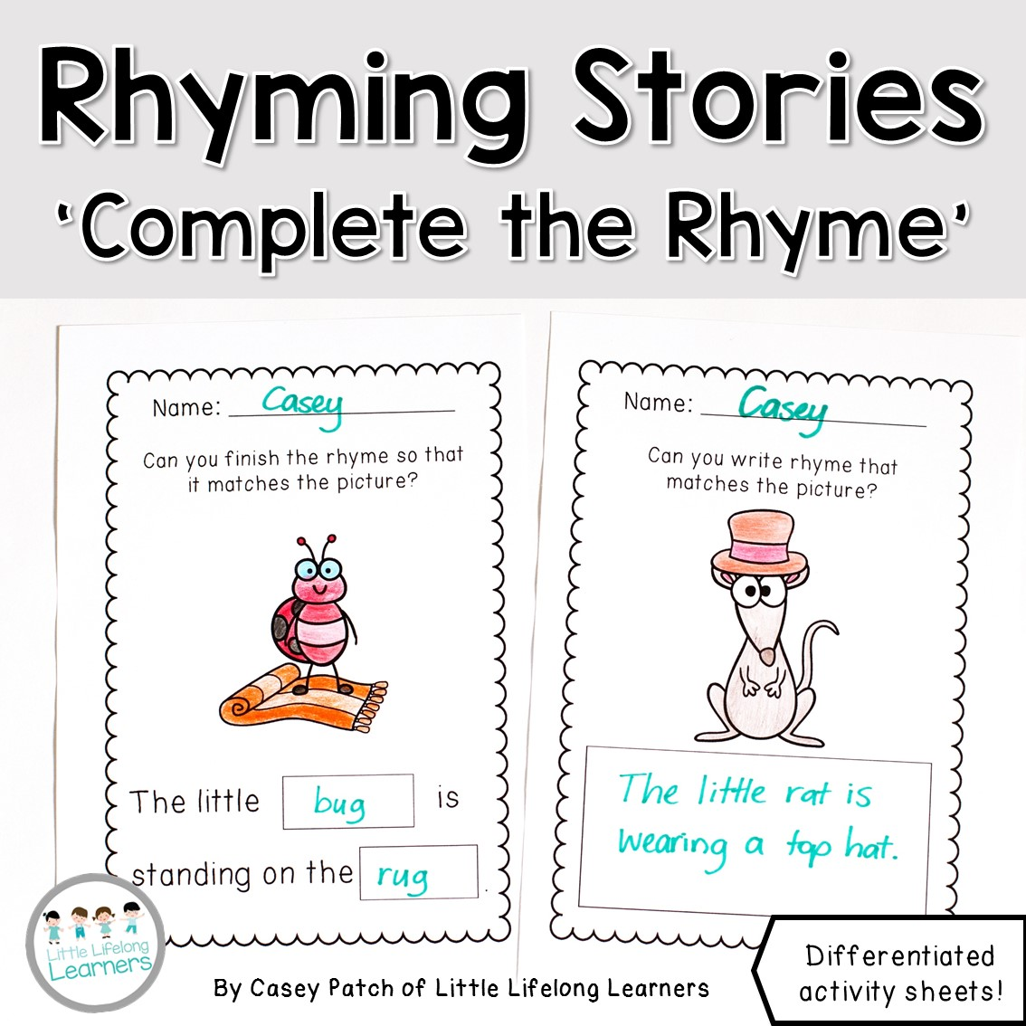 Rhyming Word Activity