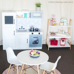 Kmart Kitchen Reface Hack For Kids Little Lifelong Learners Play Reno Diy Ideas Toy