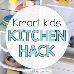 Kmart Kitchen Chair Cushions With Ties Hack For Kids Little Lifelong Learners