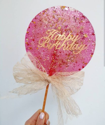 GIANT BIRTHDAY LOLLIPOP