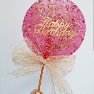 GIANT BIRTHDAY LOLLIPOP