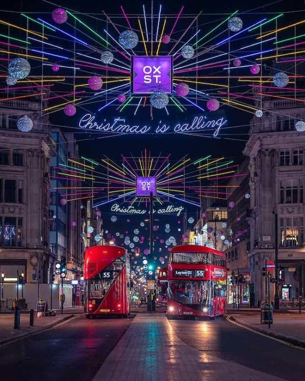 christmas lights london # 16