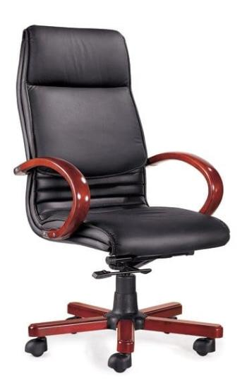 DB014 Leather High Back Chair