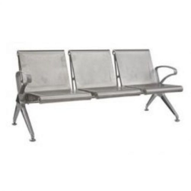 Terrific Square Aluminium Bench Office Furniture Short Links Chair Design For Home Short Linksinfo