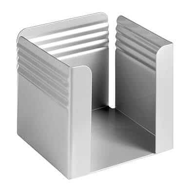 Fluted Paper Cube and Pencil Cup