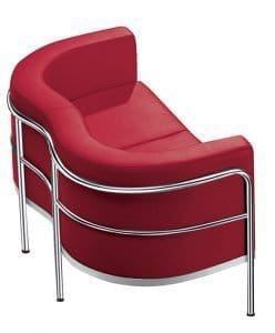 CIROCCO 2 SEATER IN RED 248x300