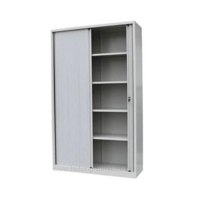 Steel wardrobe roller door