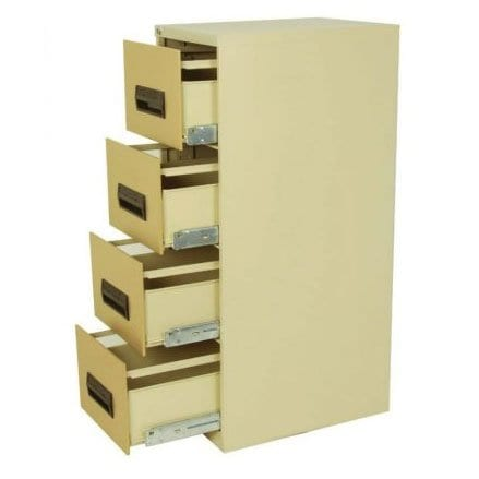 4 Drawer Steel Filing Cabinet