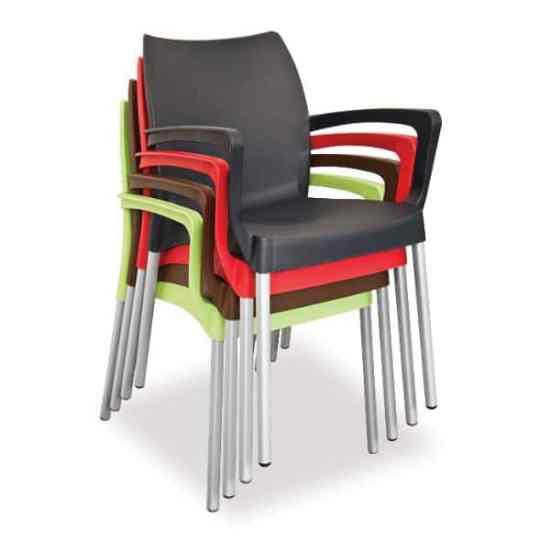 Star Plastic Arm Chair