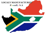 Locally manufactured South Africa