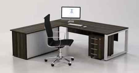 Loop Executive L Shape Desk