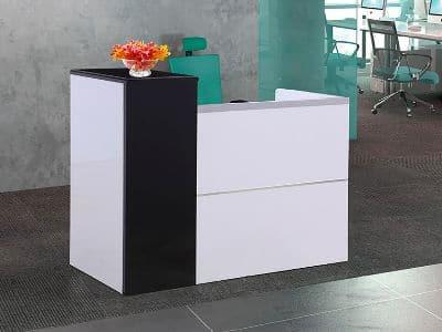 Stellar Single Reception Desk 1200