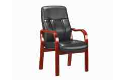 Visitors Leather Touch Chair DB063
