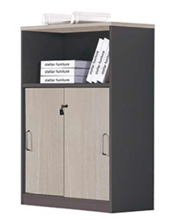2 Door 1 Shelf Wall unit