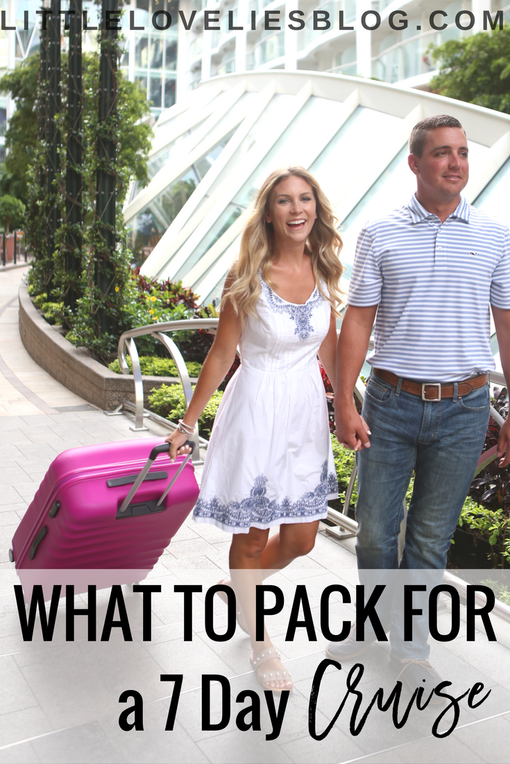 What to Pack for a 7 Day Cruise | Royal Caribbean | American Tourister