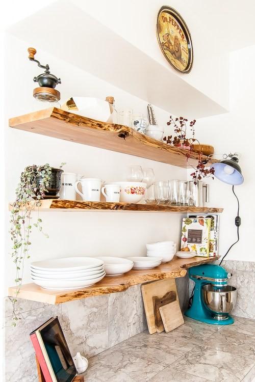 25 diy kitchen shelves ideas to improve