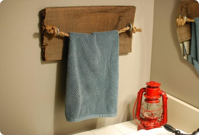 25 diy towel rack for classy and rustic